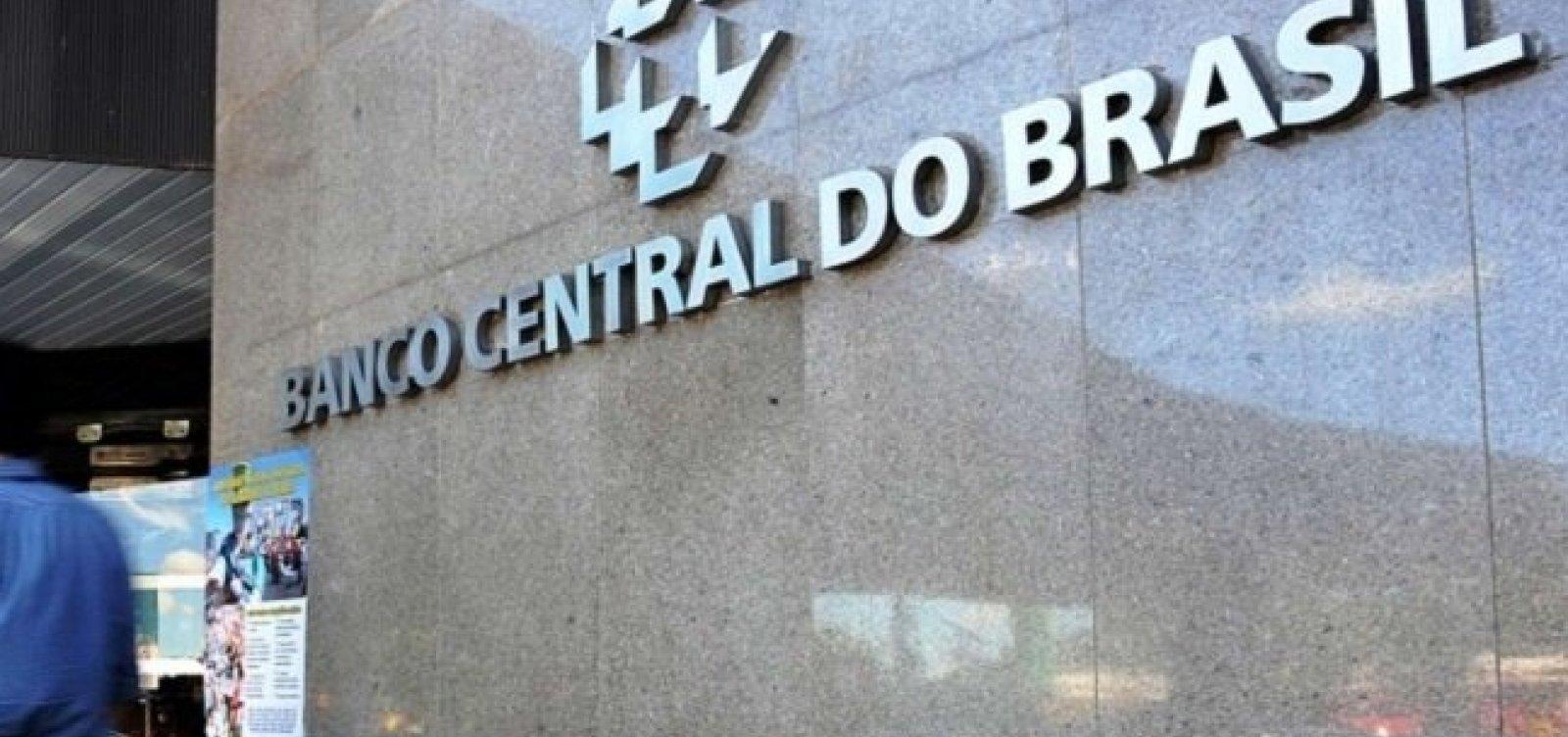 Economia brasileira cresceu 0,47% em agosto, diz Banco Central