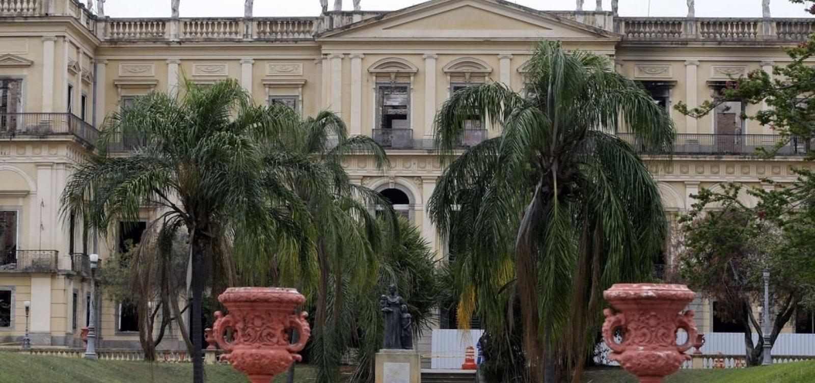 União vai ceder terreno para Museu Nacional