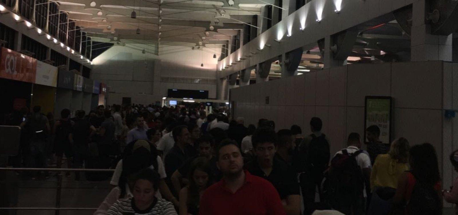 'Informação equivocada' repassada pela Coelba intensificou caos no Aeroporto de Salvador