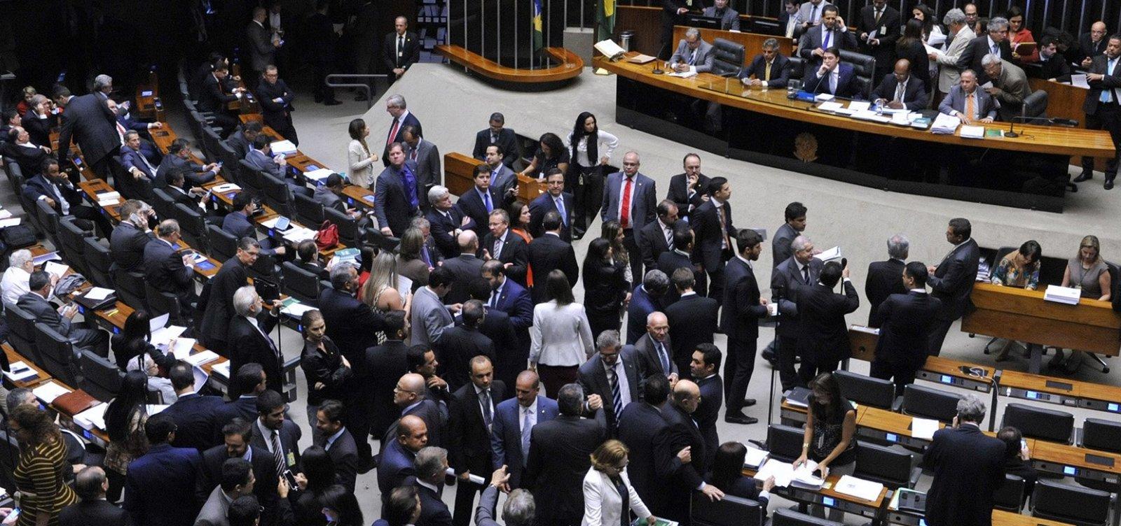 Votações na Câmara dos Deputados só serão retomadas depois do 2º turno