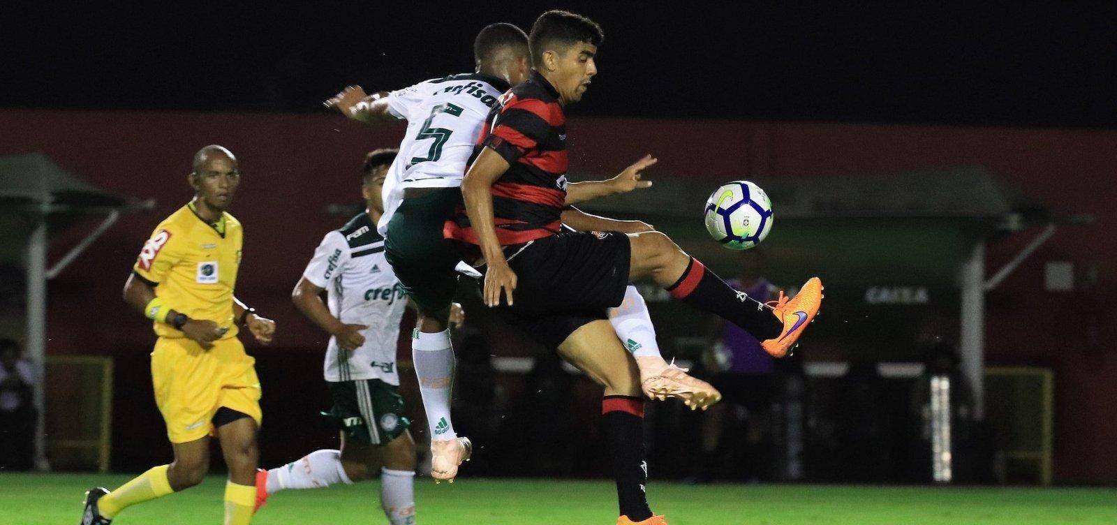 Final do Brasileirão Sub-20 termina com briga e invasão de campo no Barradão; veja