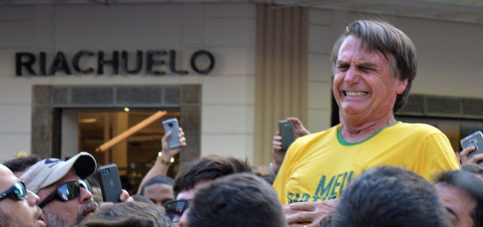Polícia Federal encontra indícios de participação do PCC no ataque a Bolsonaro