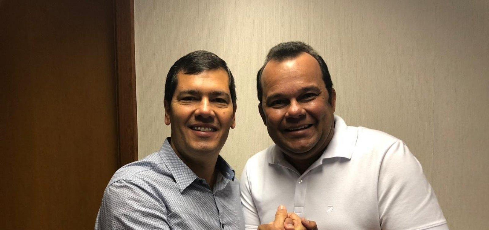 Tinoco desiste de candidatura e apoia Geraldo Júnior na disputa pela presidência da Câmara