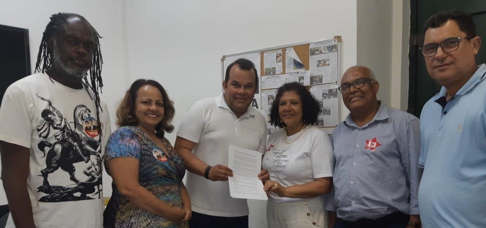 Presidência da CMS: PT, PCdoB e PSB declaram apoio a Geraldo Júnior