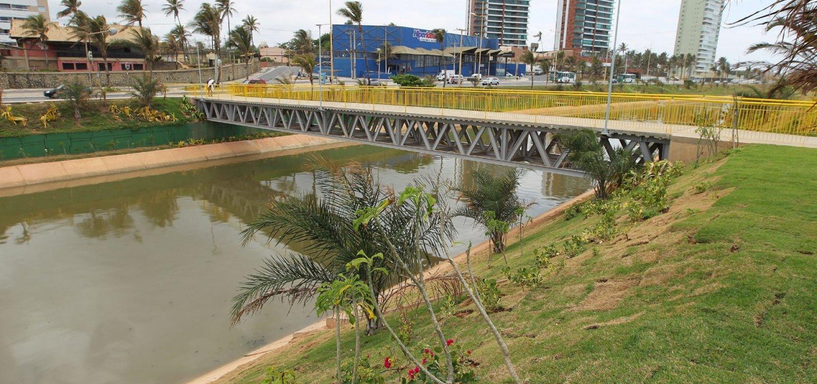 Governo conclui obras de urbanização ao lado do Rio Jaguaribe