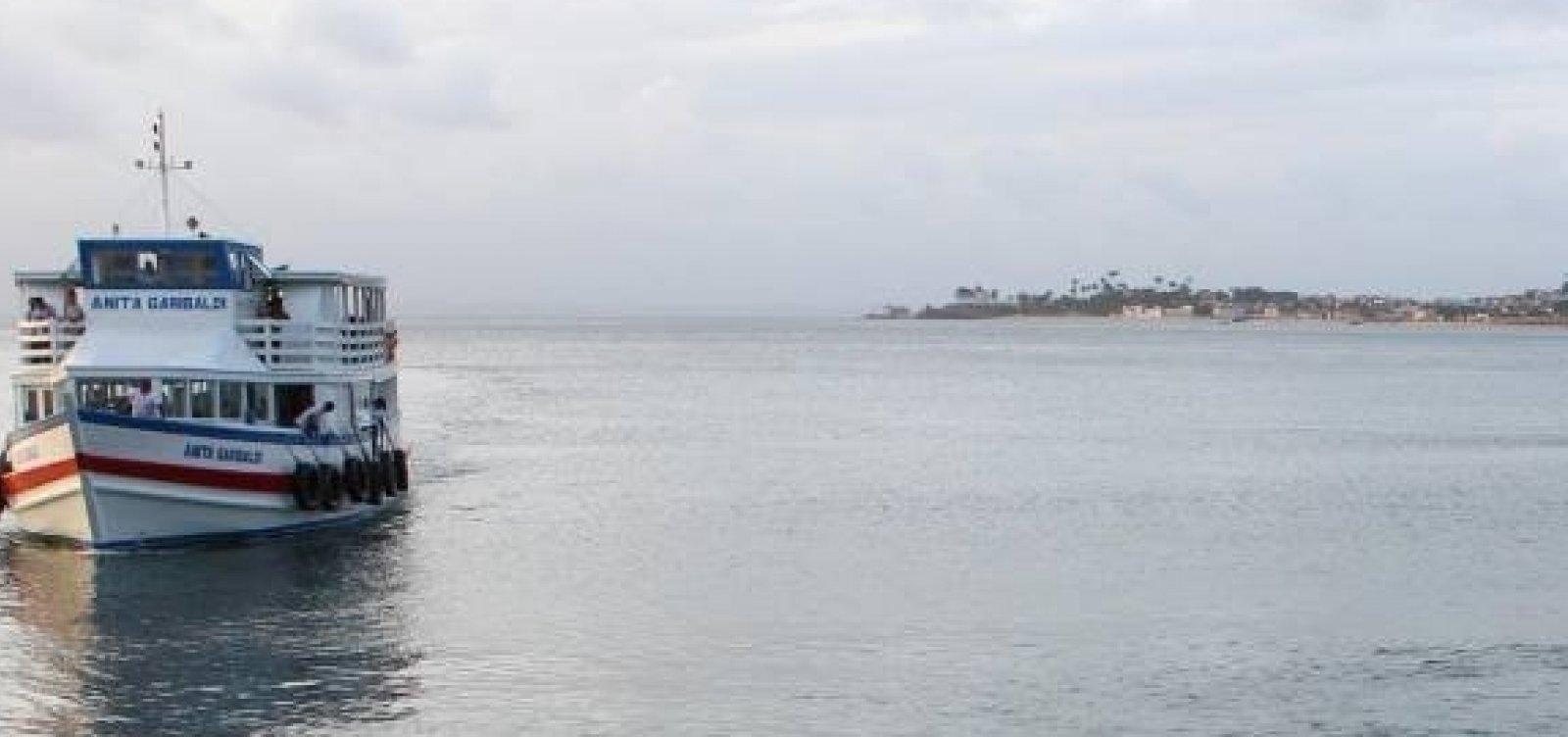 Travessia Salvador-Mar Grande é suspensa por conta do mau tempo