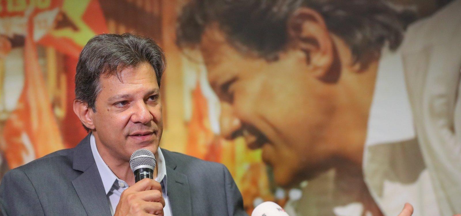 Haddad condena vídeo em que filho de Bolsonaro ataca STF: 'Esse pessoal é uma milícia'