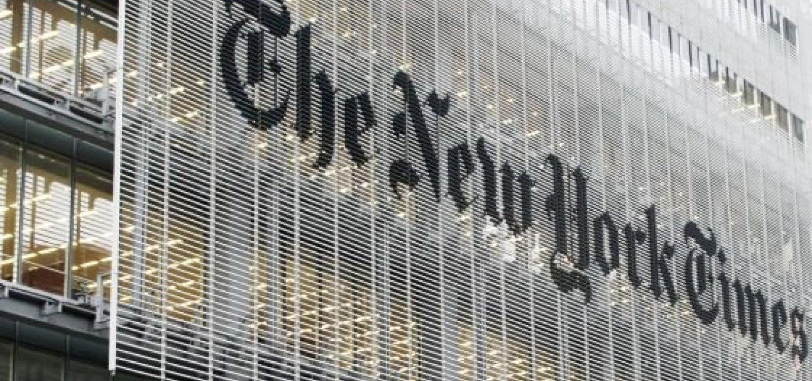 New York Times diz que escolha de Bolsonaro 'é um triste dia para a democracia'