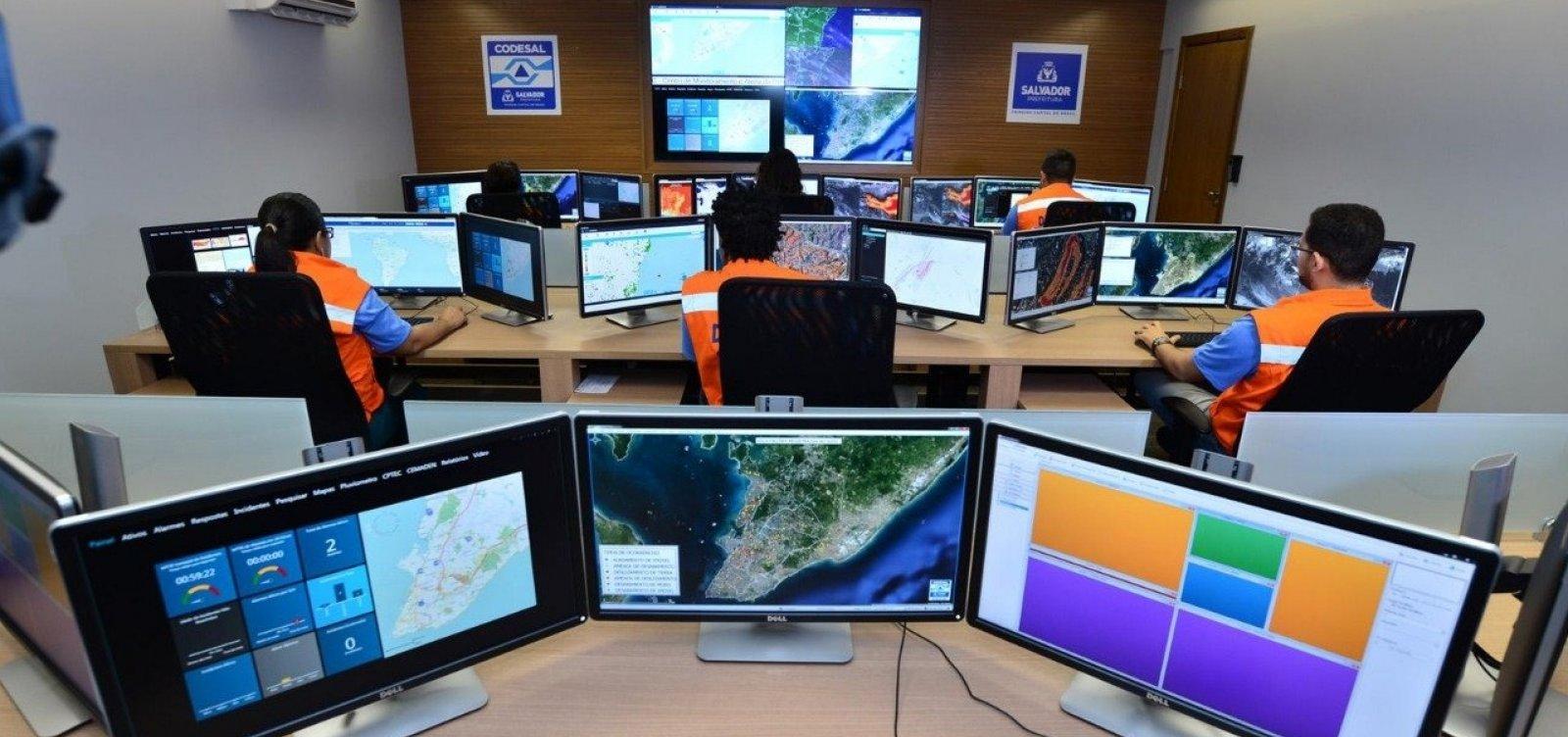 Defesa Civil registra 22 solicitações ligadas à chuva em Salvador