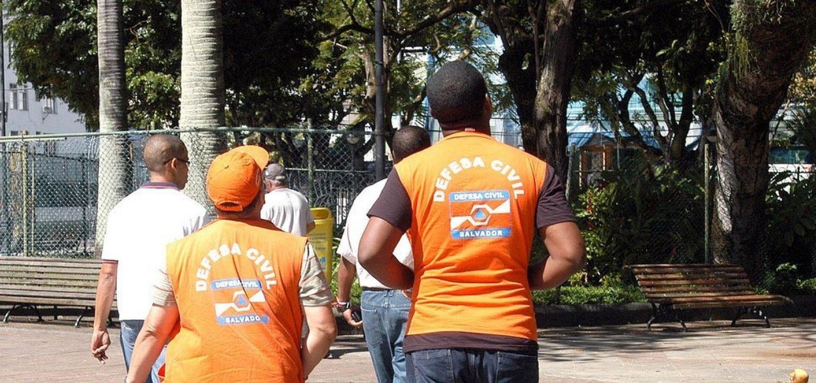 Defesa Civil registra 65 solicitações ligadas à chuva em Salvador