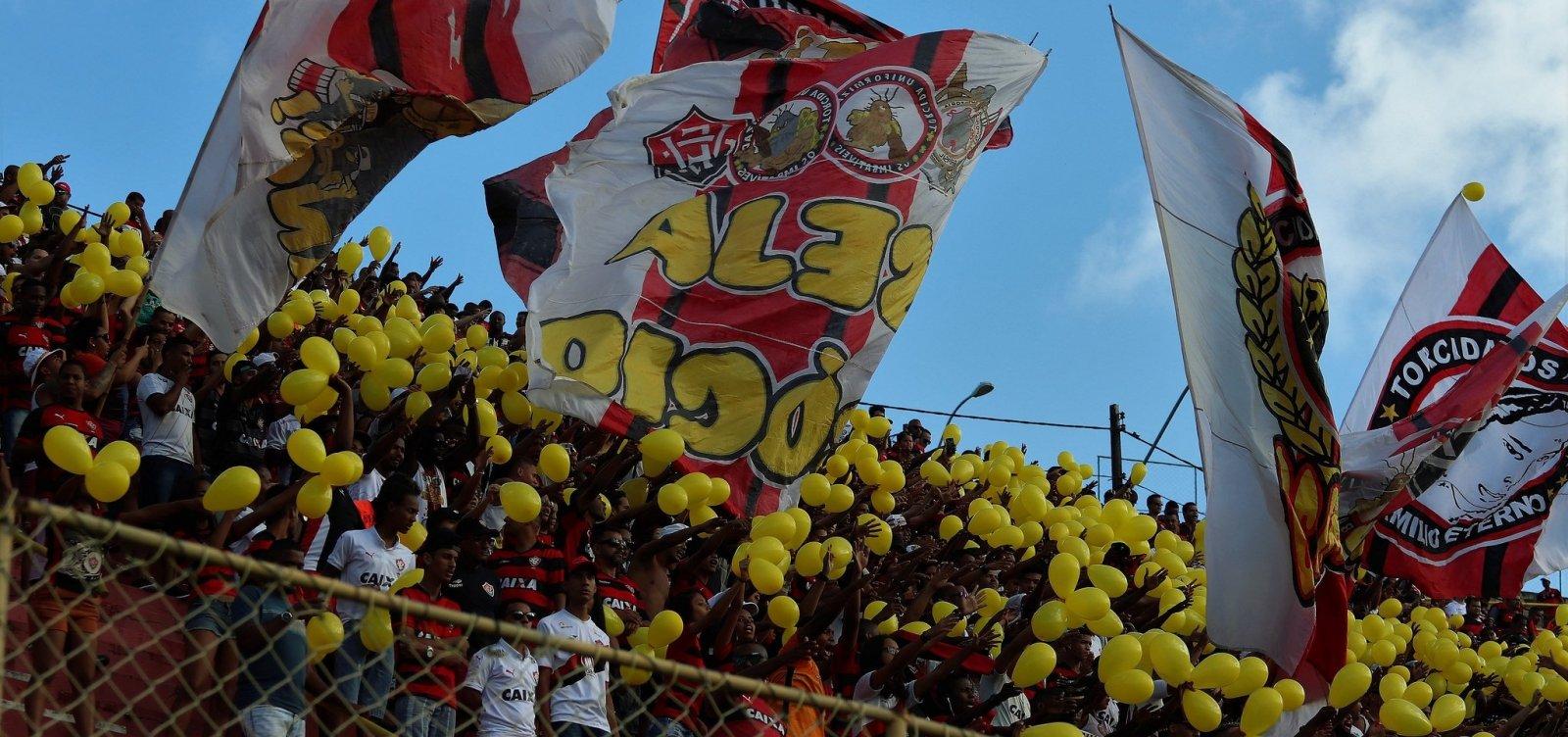 Vitória estende promoção de ingressos para duelo com o São Paulo