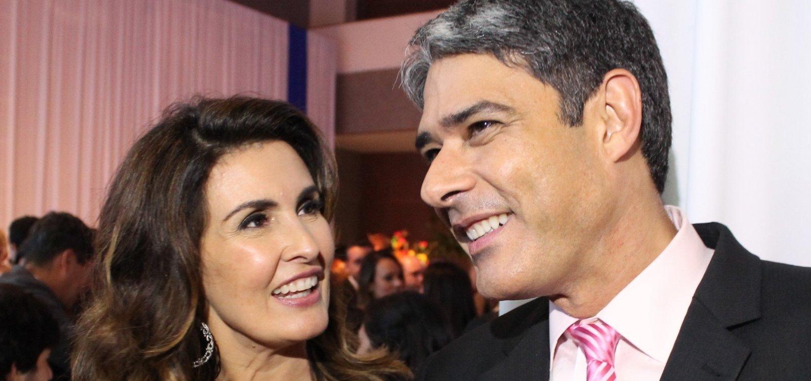Fátima Bernardes se emociona com texto sobre fim do seu casamento com Bonner