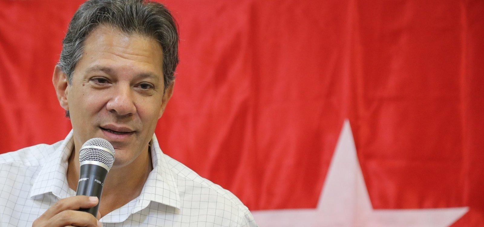 'Não tem nenhuma estatal no meu radar para ser vendida', diz Haddad