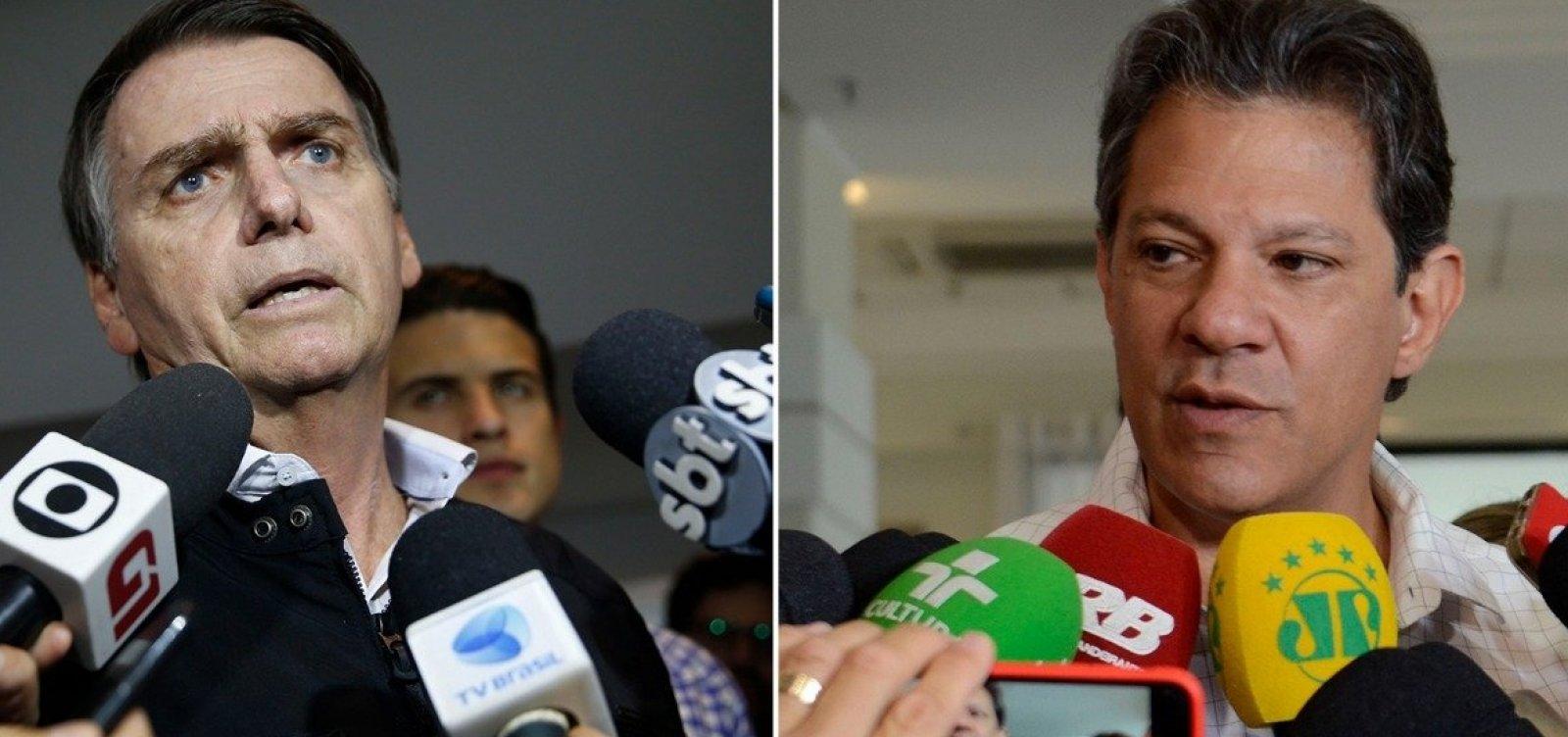 Programa do PT diz que opção por Bolsonaro é 'voto de cabresto'