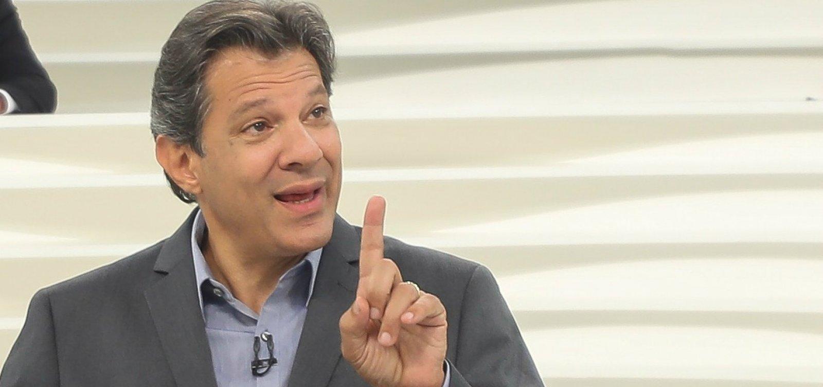 Haddad admite erro estratégico do PT e chama Bolsonaro de 'rebotalho da ditadura'
