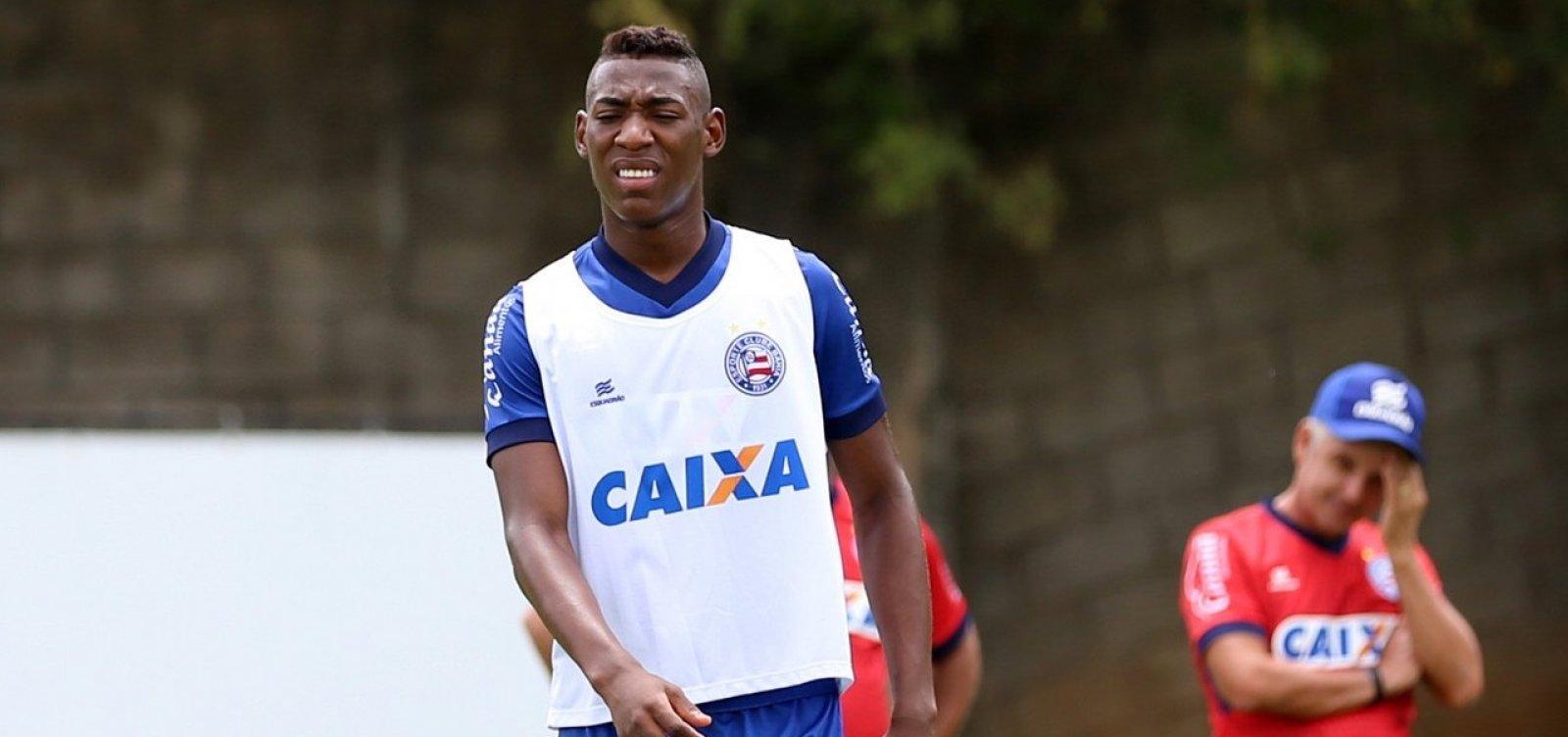 Bahia perde lateral Léo para decisão da Sul-Americana