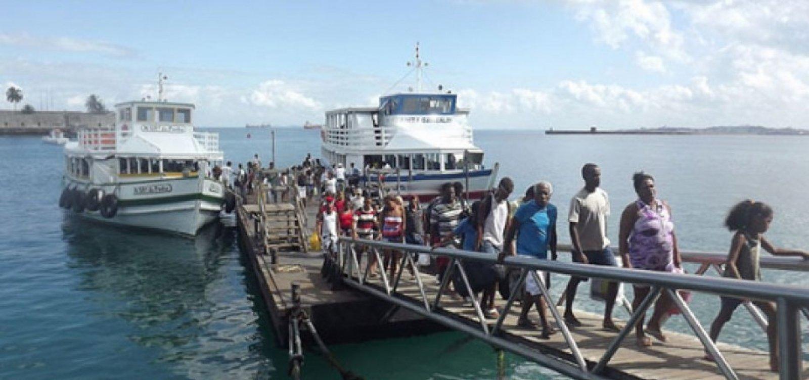 Travessia Salvador-Mar Grande é retomada após três dias de suspensão