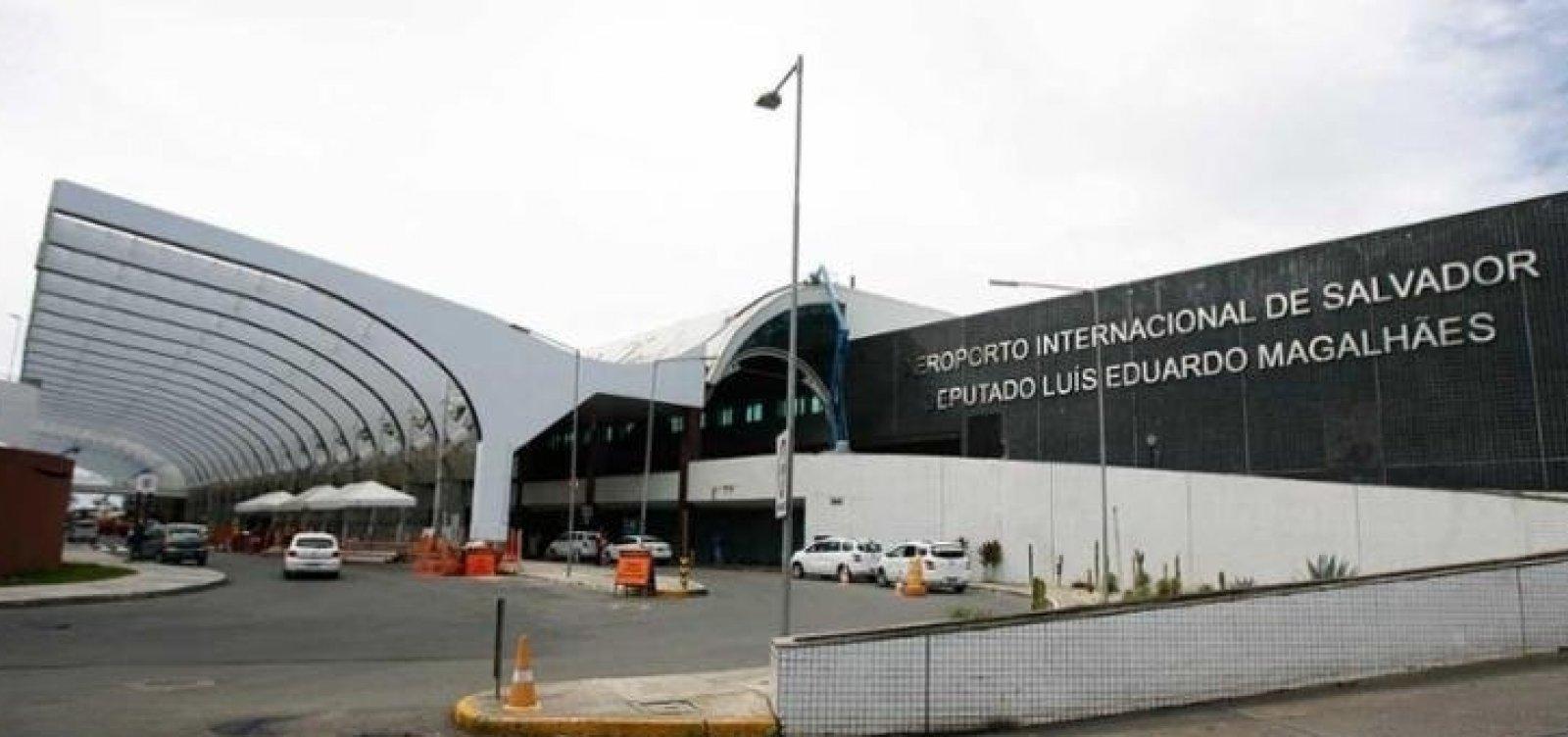 Piloto muda rota de voo por causa de mau tempo em Salvador