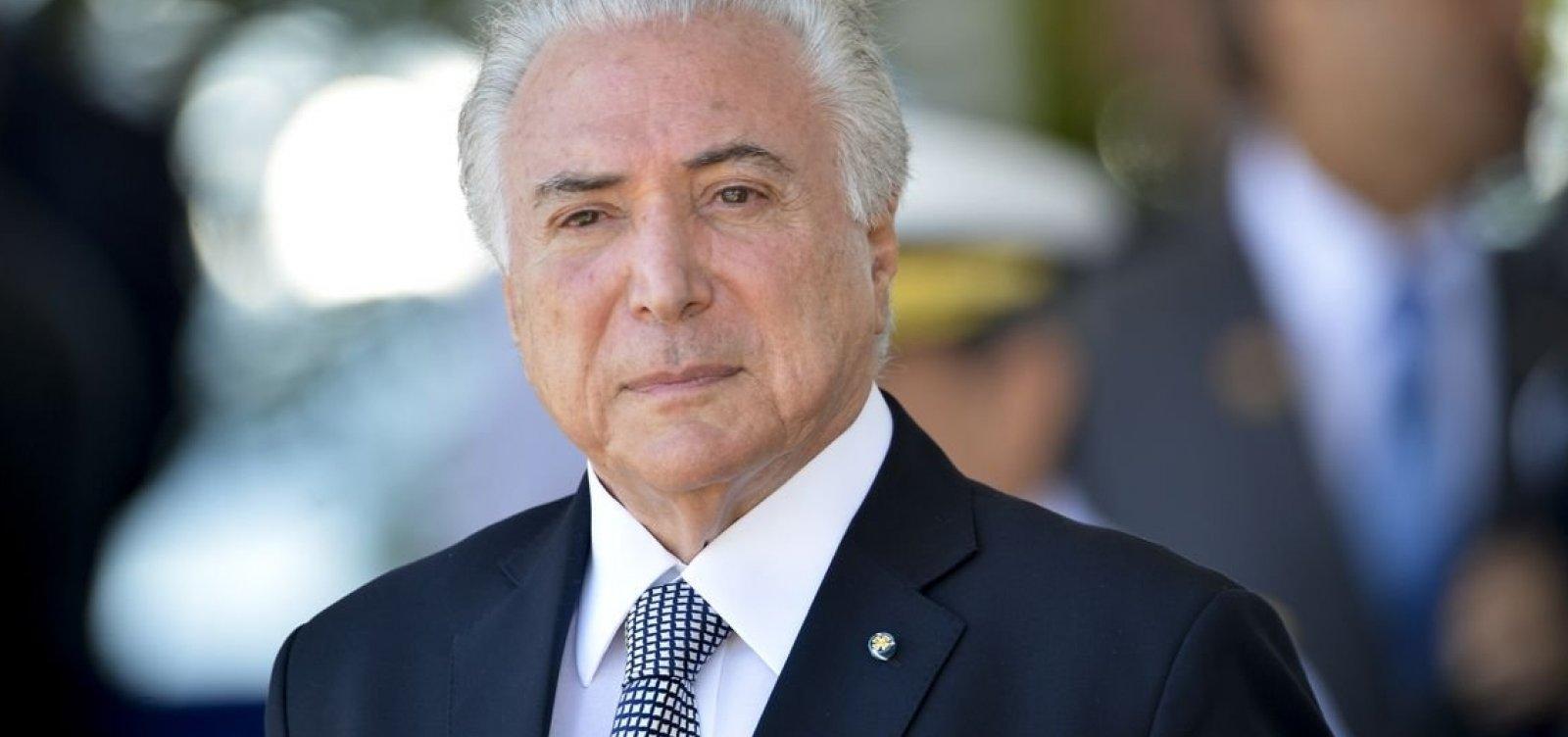 Temer recua de nomeações na Caixa após pressão de Bolsonaro