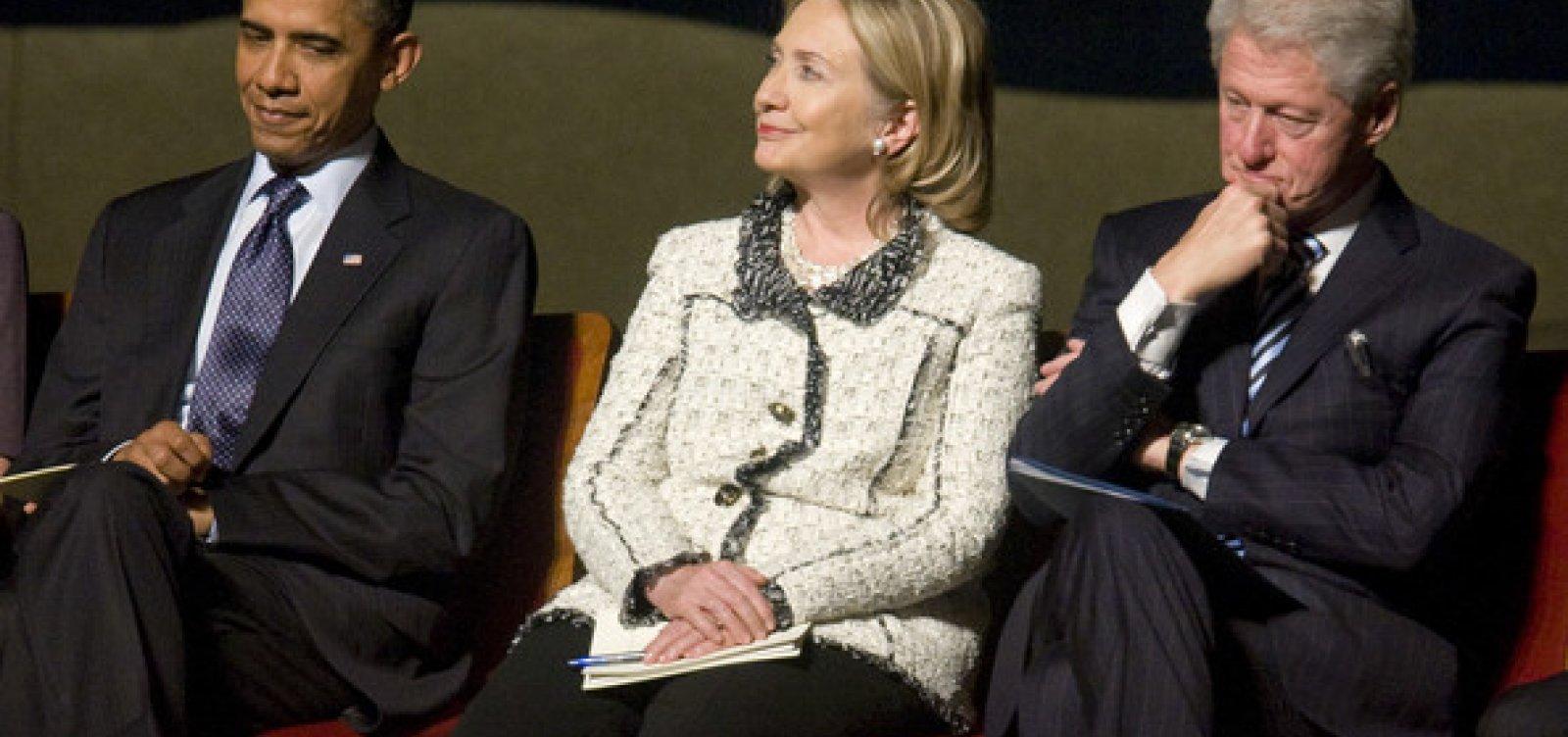 Bomba é encontrada na casa dos Clinton e em gabinete de Obama