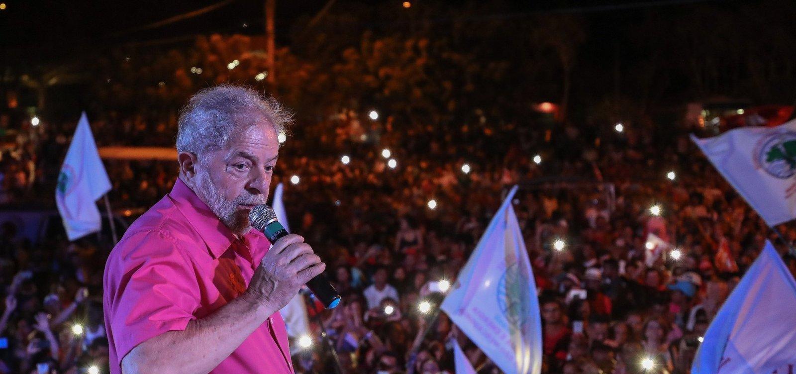 'Não podemos deixar o desespero levar o Brasil para uma aventura fascista', diz Lula, em carta