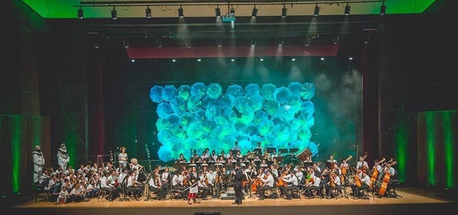 Neojiba comemora 11 anos de atividades com show no TCA