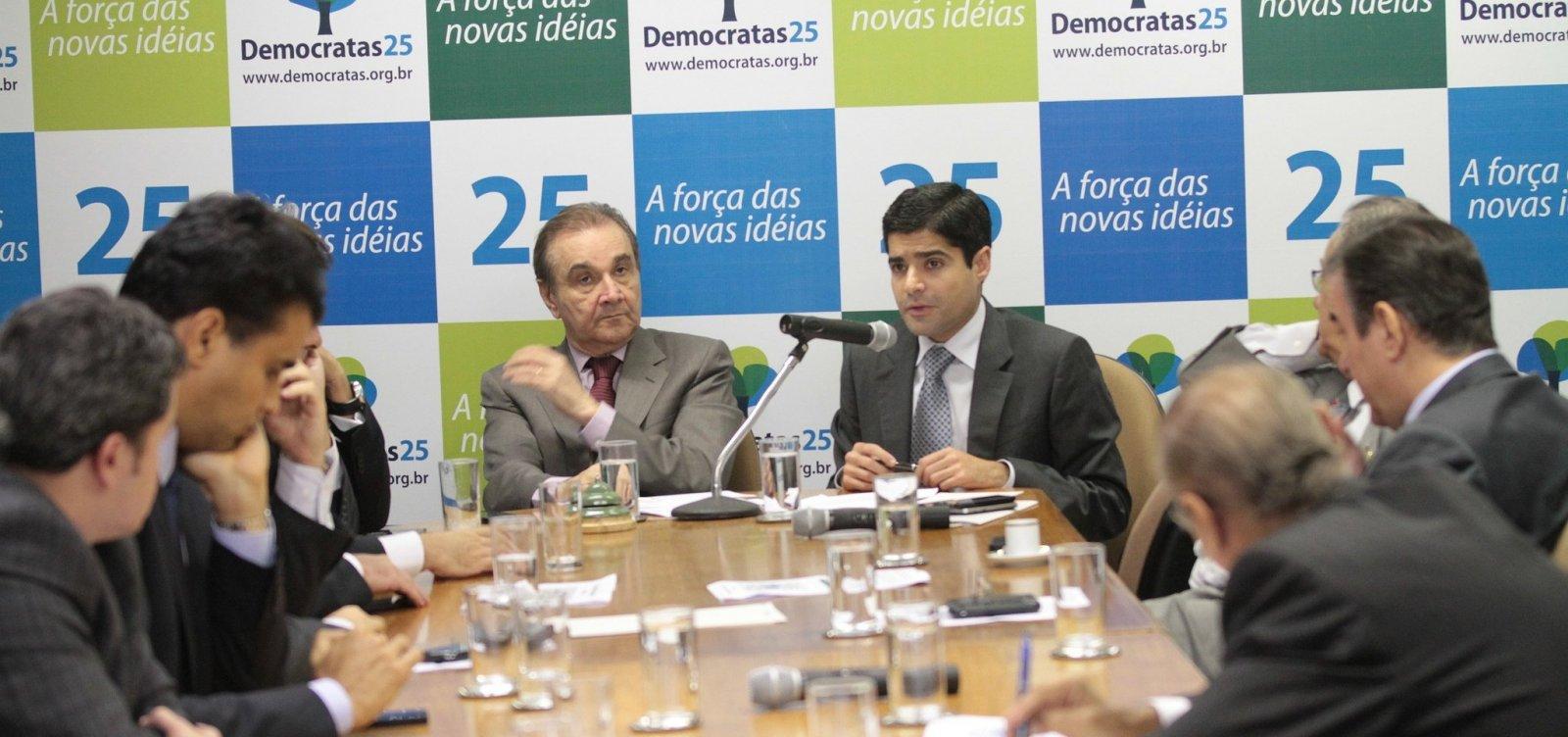 Políticos do DEM são cotados para integrar eventual governo de Bolsonaro