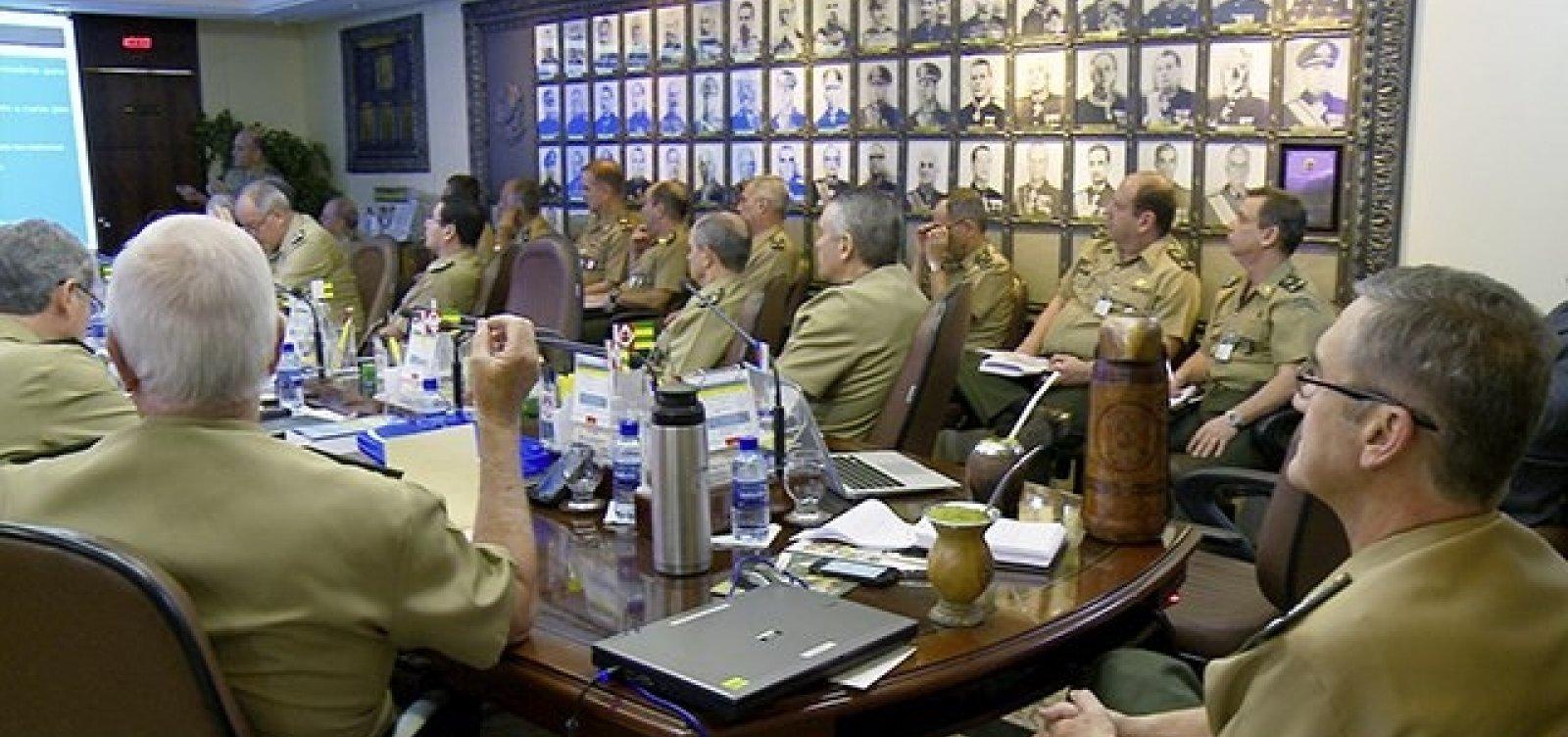 Militares pedem mais moderação a candidatos na reta final do 2º turno