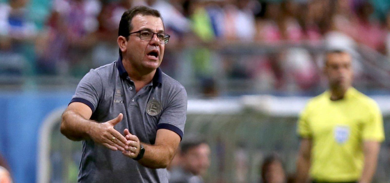 Técnico do Bahia critica decisões do VAR: 'Fomos prejudicados'