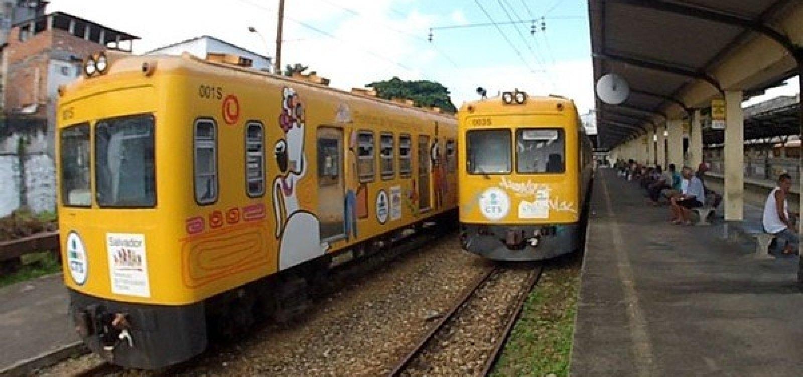 Trens funcionam com horário especial no domingo de eleições