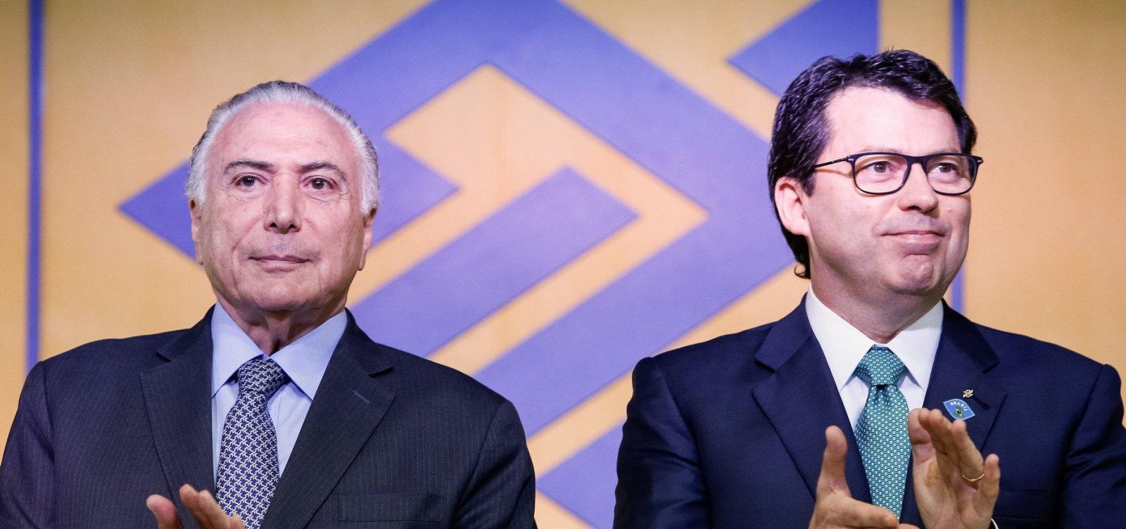 Presidente do Banco do Brasil pede demissão do cargo