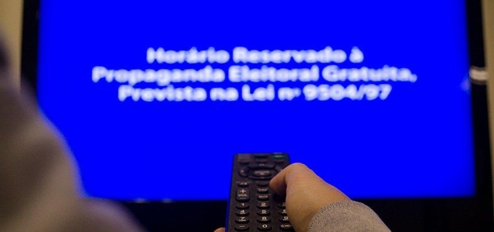 Propaganda eleitoral no rádio e na TV termina hoje