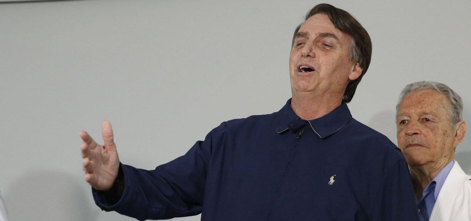 Bolsonaro diz que vai dar 'ippon' na corrupção, na violência e na ideologia