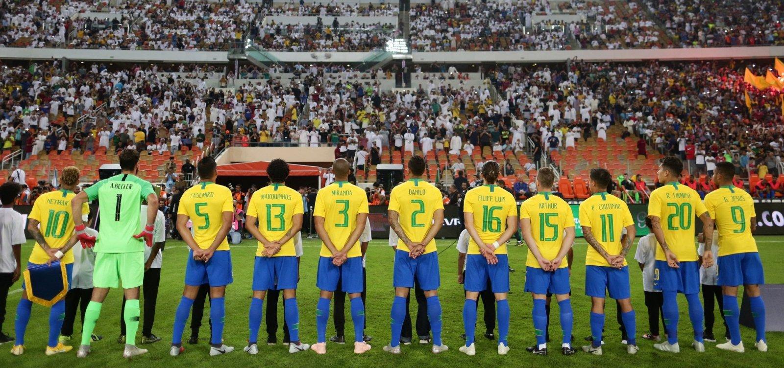 Último amistoso da Seleção em 2018 será contra Camarões