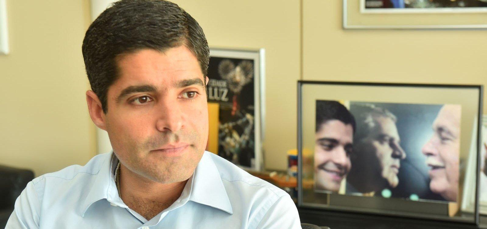 Neto diz reconhecer 'força' do PSL, mas desconversa sobre secretaria: 'Vamos ver aí'