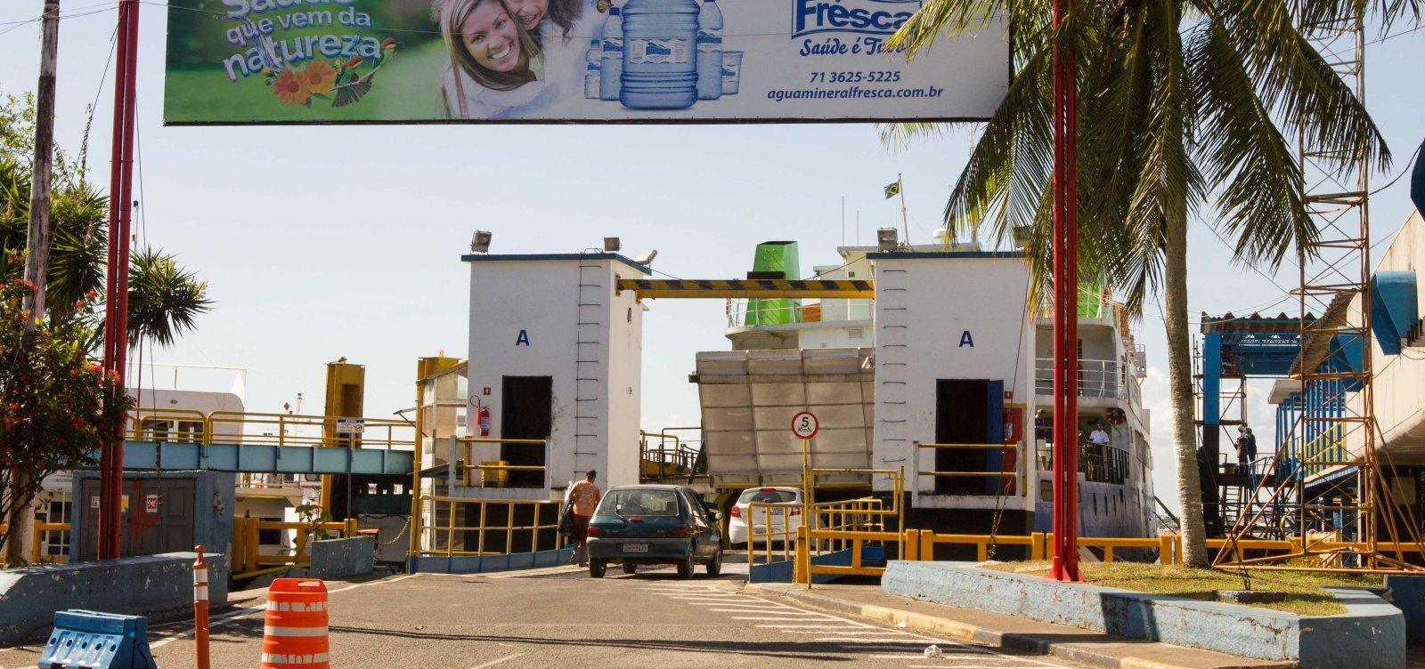 Ferryboat funciona em esquema especial para as eleições