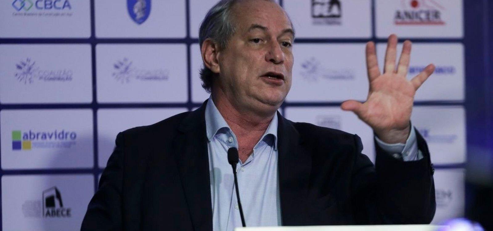Sem citar Haddad, Ciro publica vídeo 'em defesa da democracia'