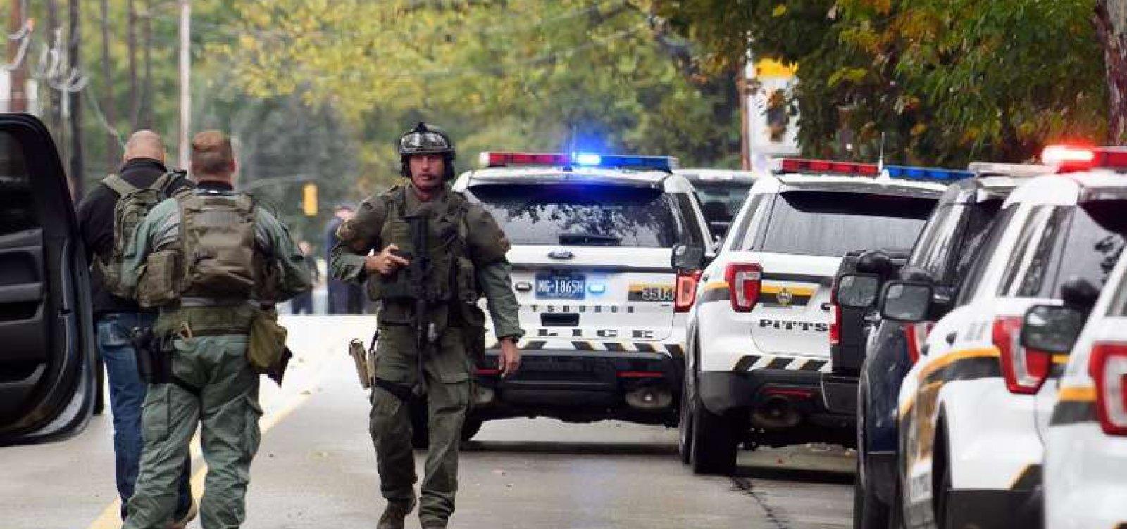 Número de mortos em ataque a sinagoga nos Estados Unidos chega a 11