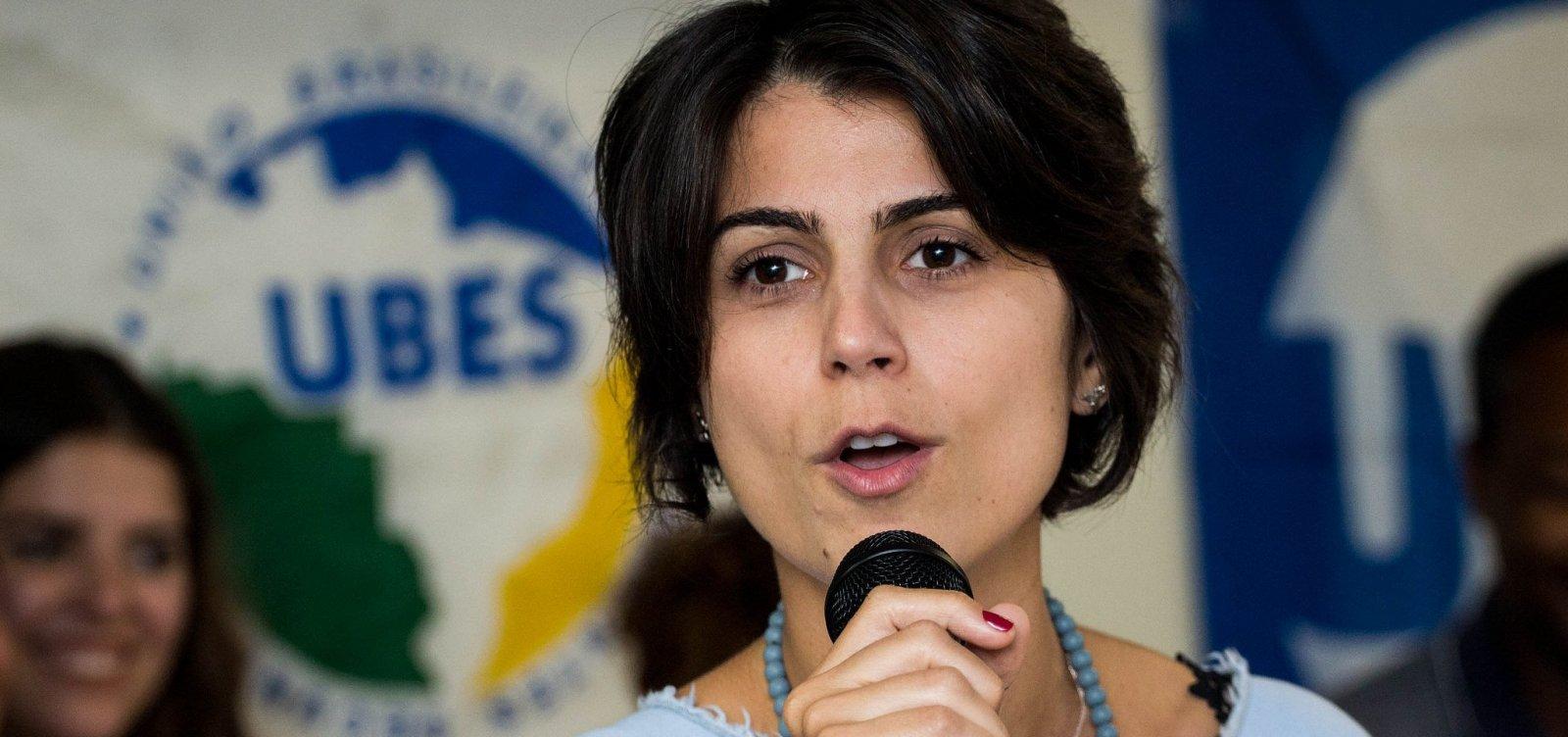 Após votar, Manuela D'Ávila diz ter convicção na 'maior virada da história'