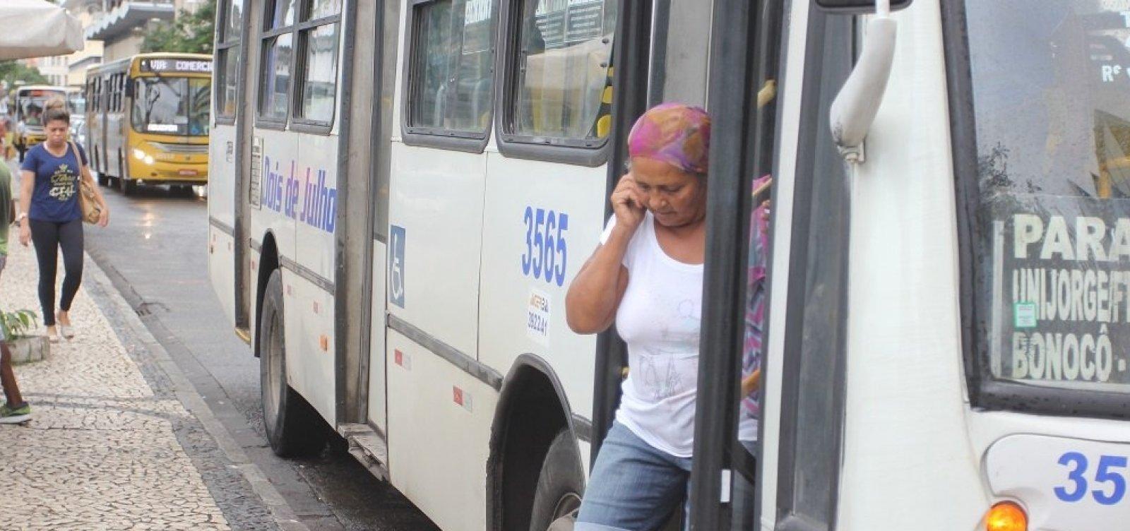 Após atraso, ônibus circulam normalmente no subúrbio