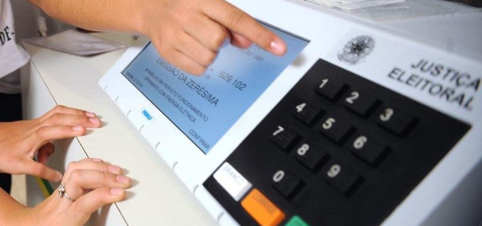 Trinta e cinco urnas eletrônicas apresentam defeito na manhã de eleições na Bahia