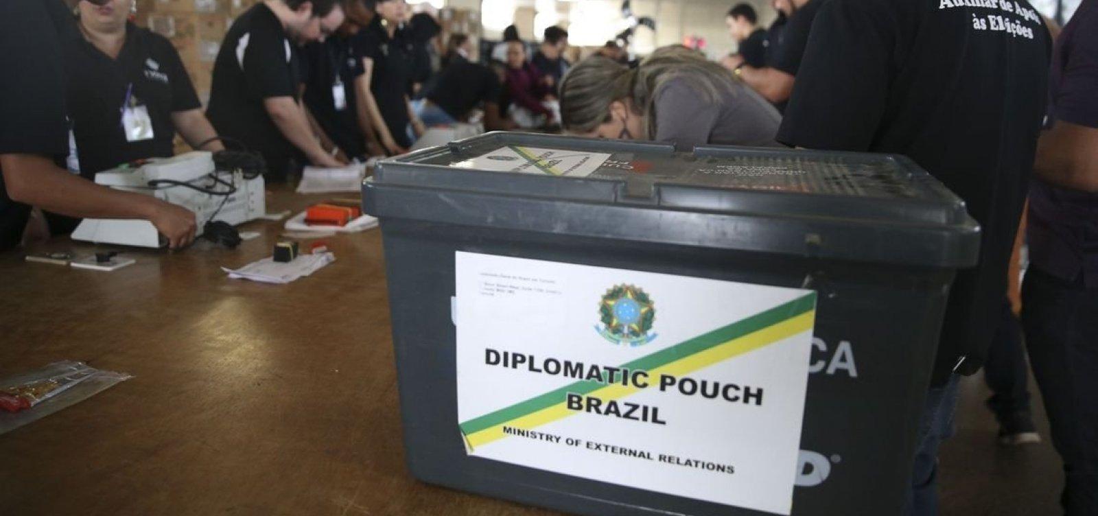 Eleição para presidente já foi encerrada em 65 países