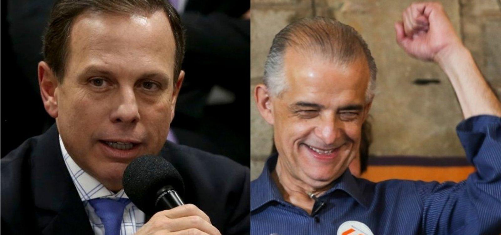 Boca de urna: Ibope aponta Doria com 52% e França com 48%