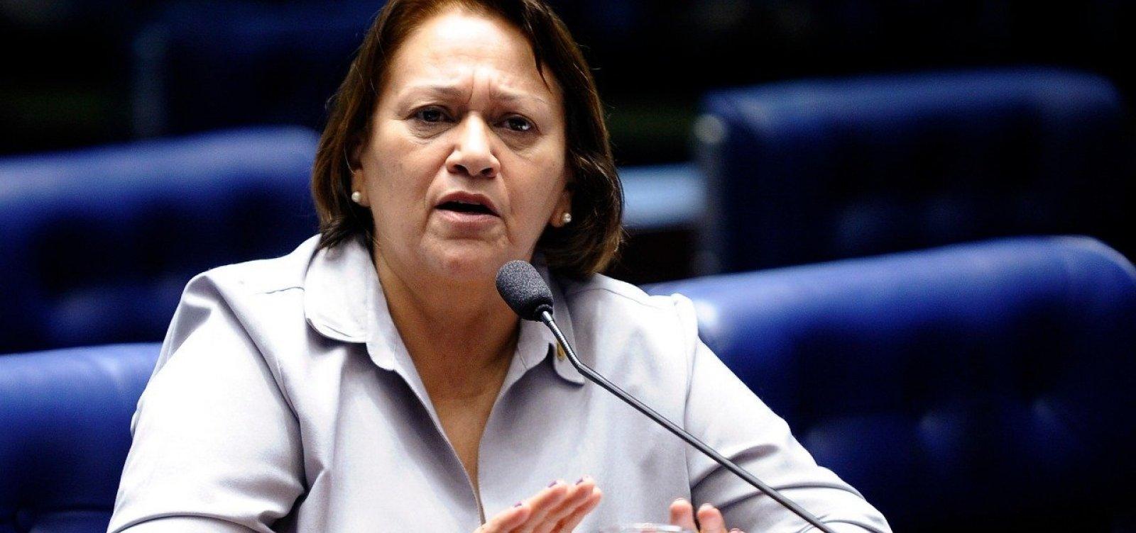RN: Fátima Bezerra é eleita governadora