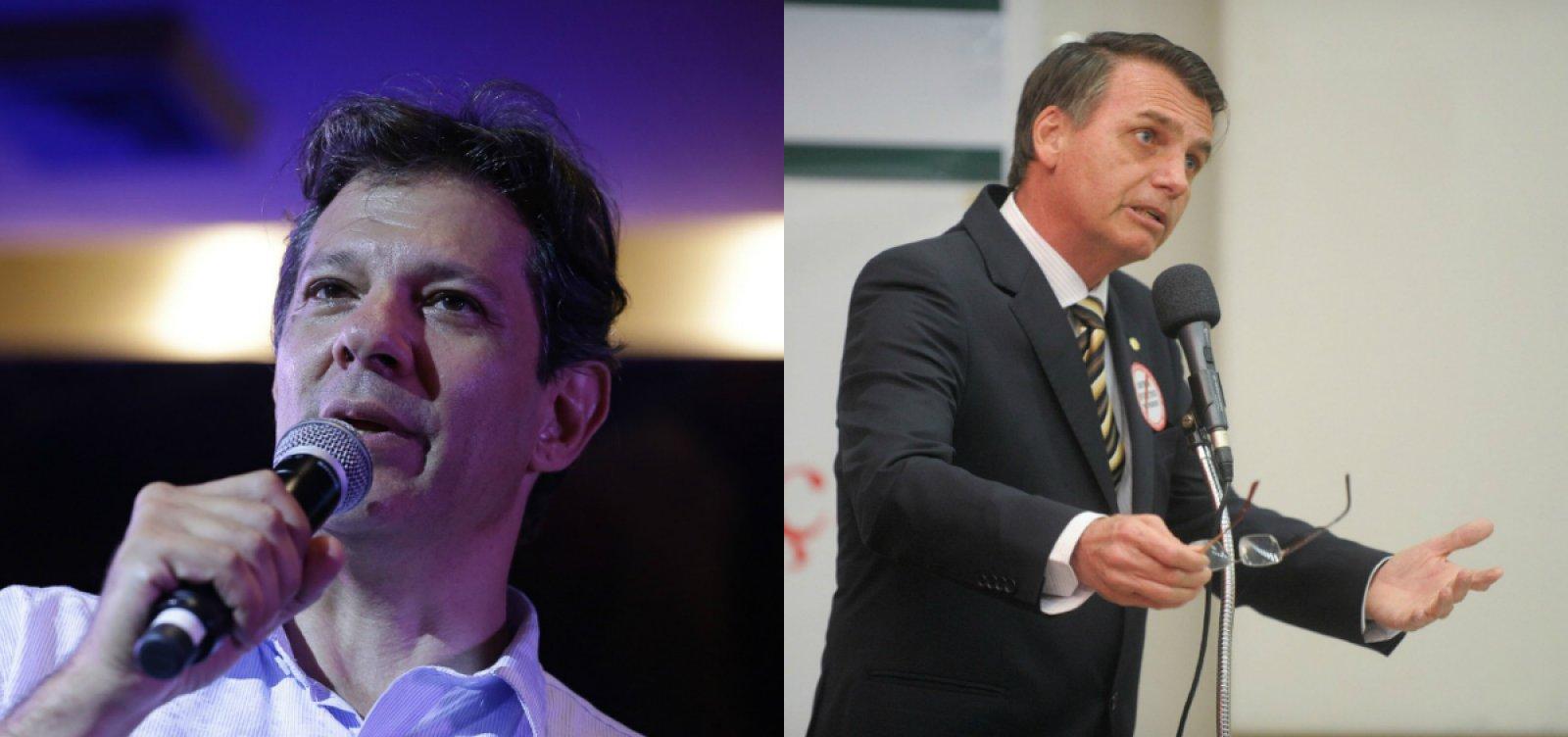 Boca de urna: Bolsonaro lidera com 56%, segundo Ibope