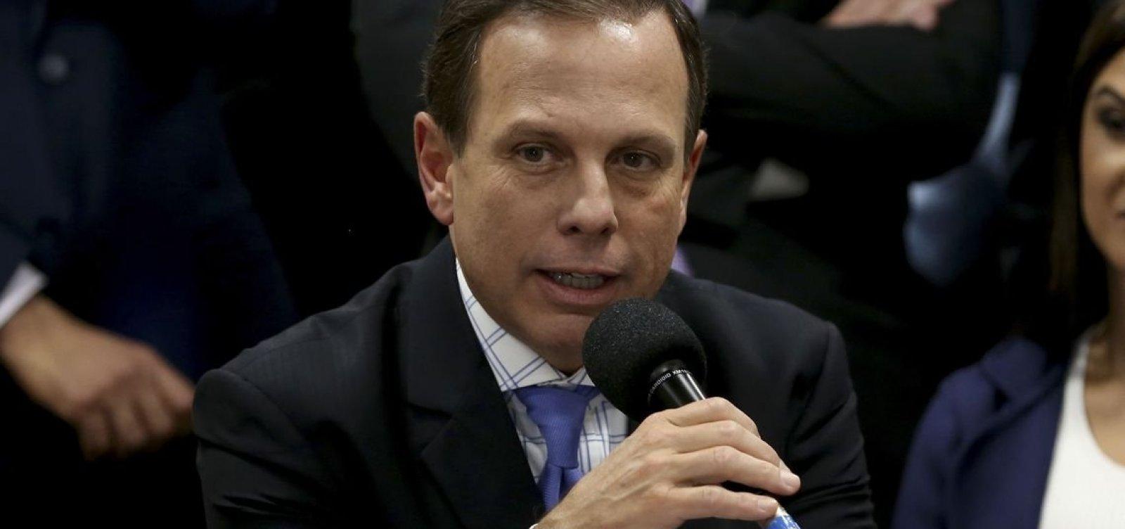Doria é eleito governador de São Paulo