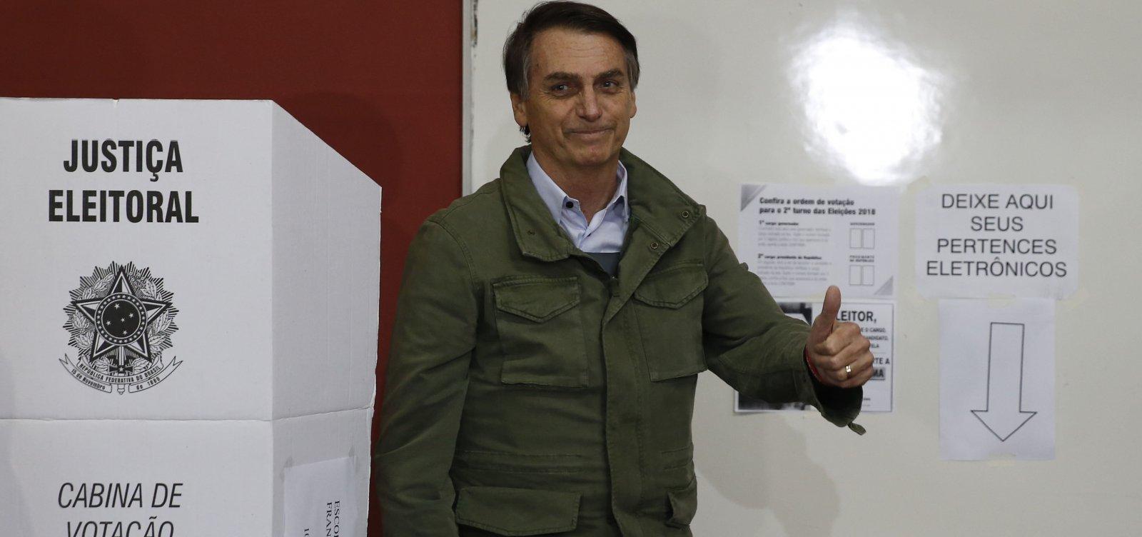 Bolsonaro vence eleição em quatro cidades da Bahia
