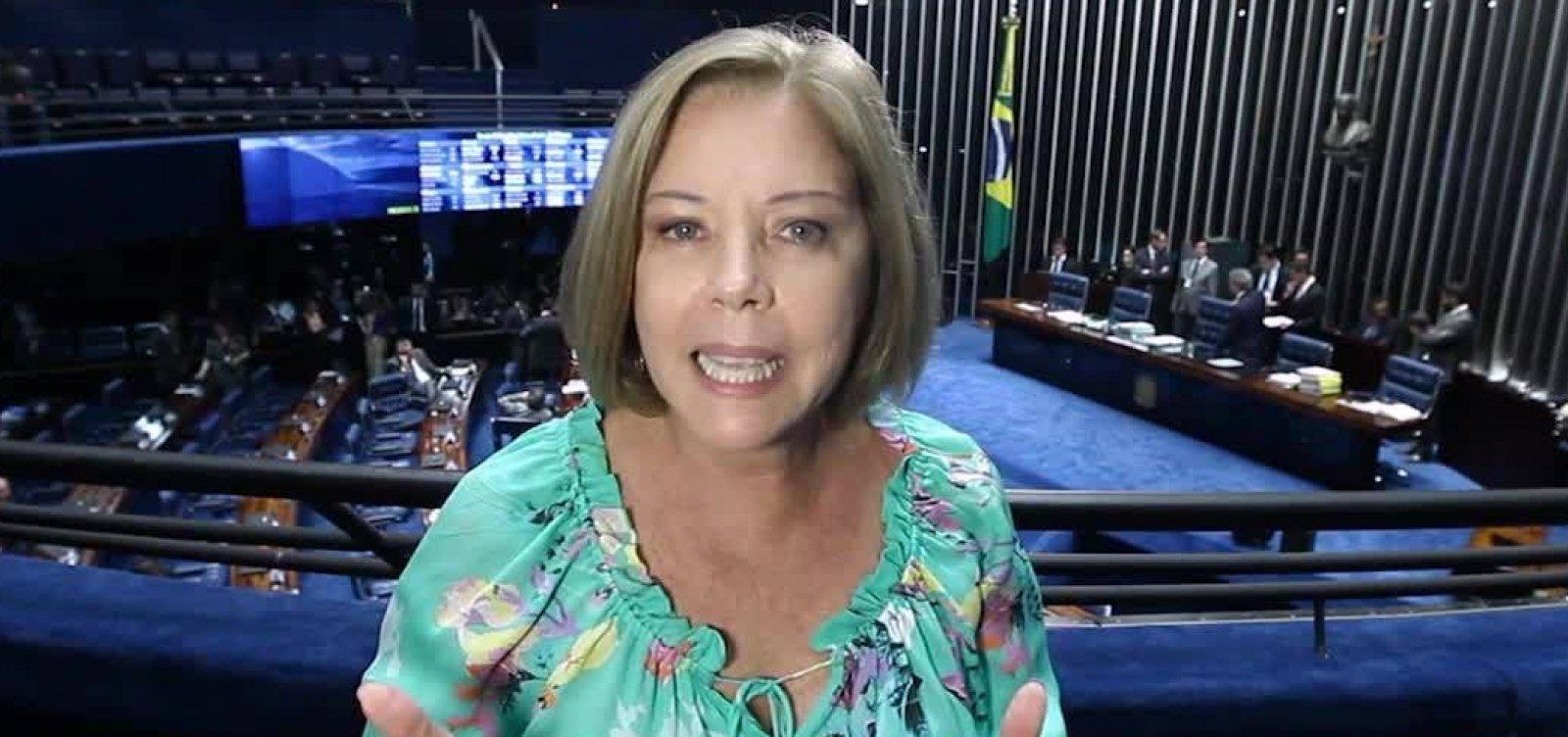Cantanhêde critica retórica de apoiadores e diz que Bolsonaro 'tem que abaixar a bola'