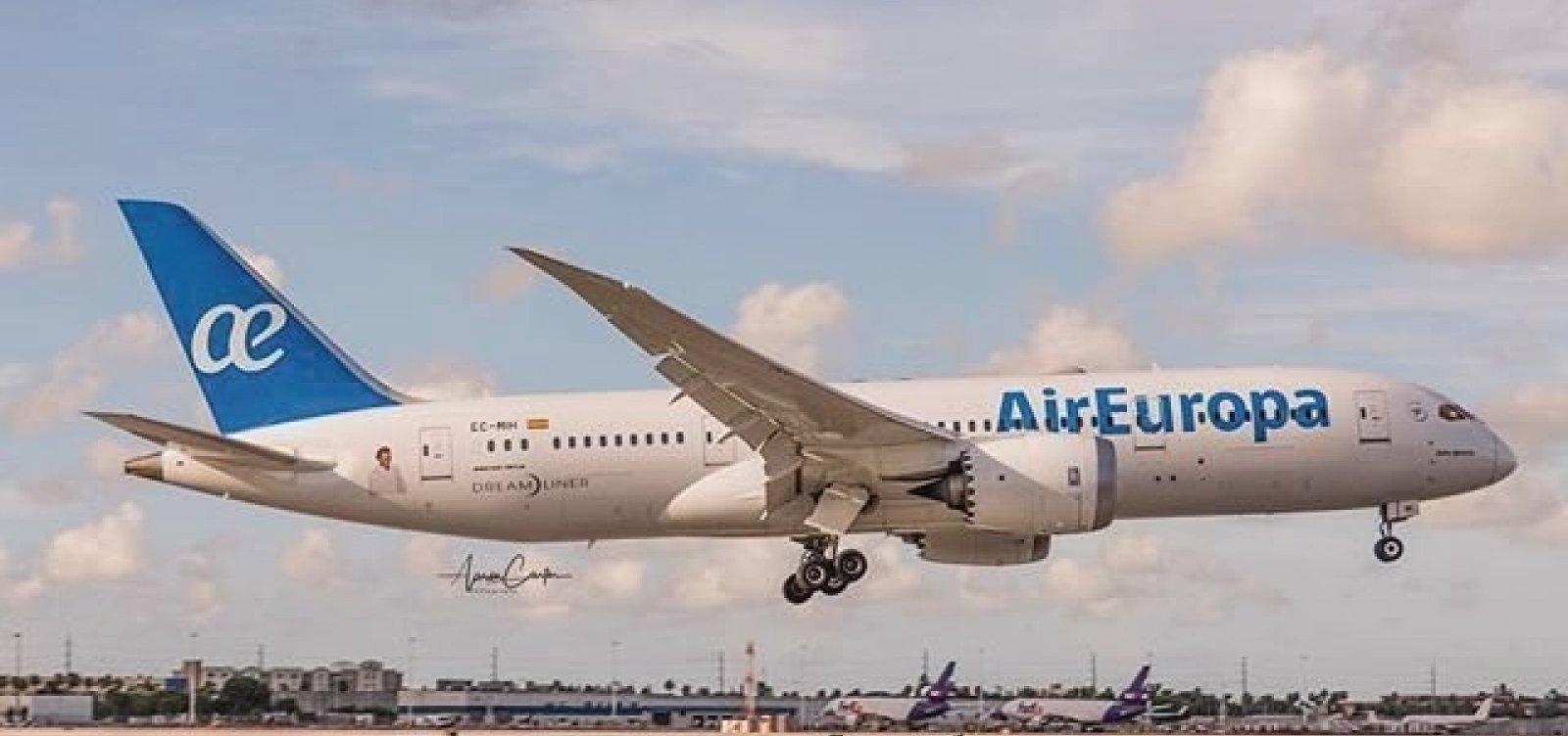 Air Europa vai renovar toda a frota até 2021