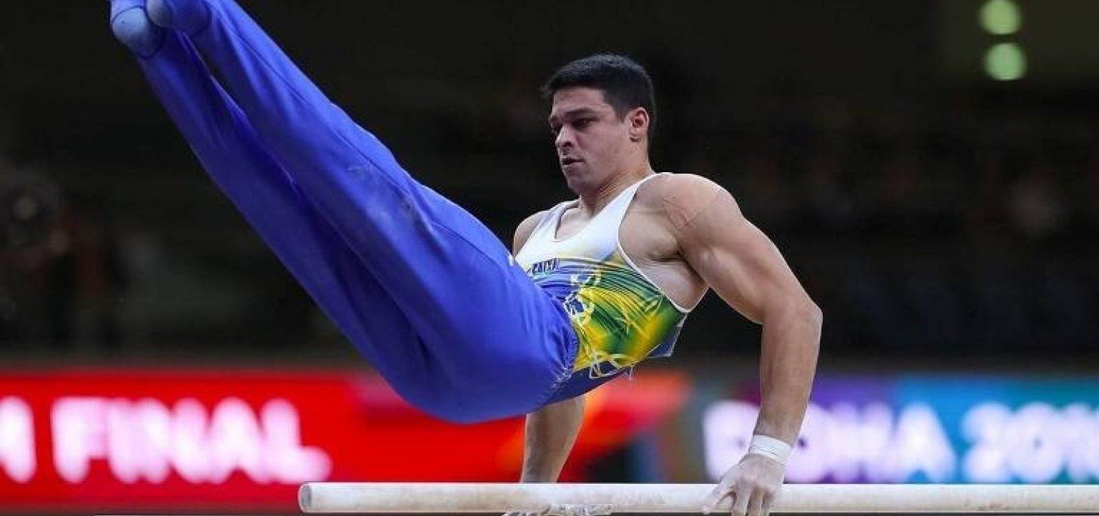 Com falhas, equipe brasileira termina em sétimo no Mundial de ginástica artística